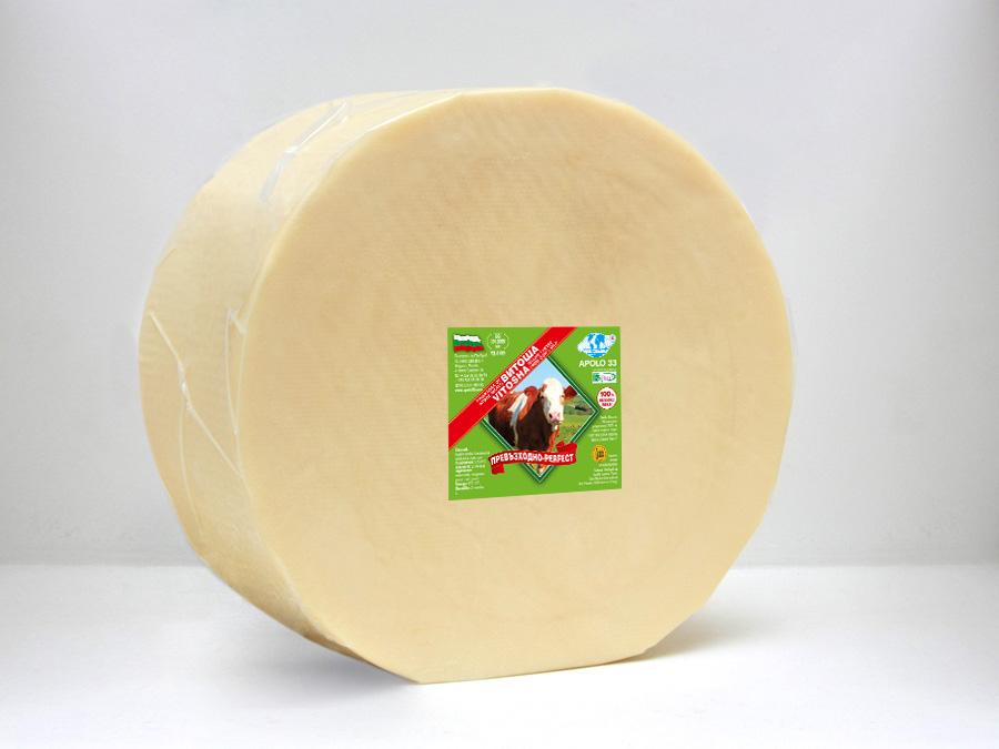 Кашкавал Витоша - 8 кг