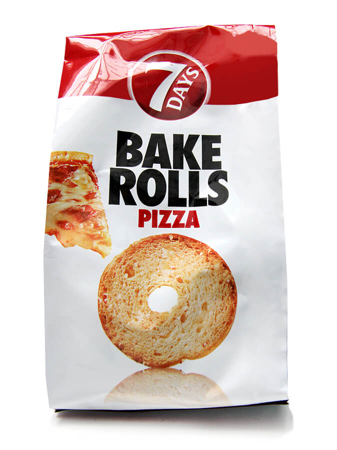 Bakerolls with pizza