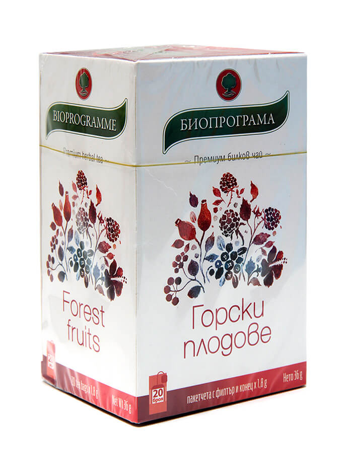 Herbal tea, forest fruits
