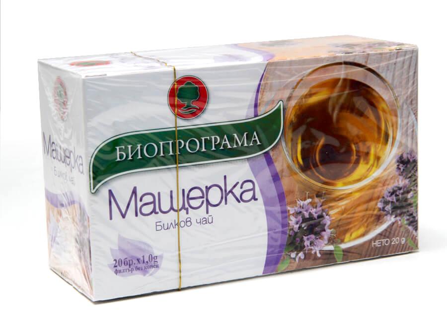 Билков чай мащерка