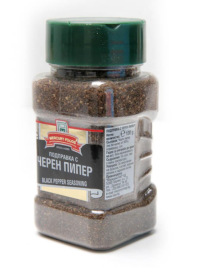 Black pepper, jar
