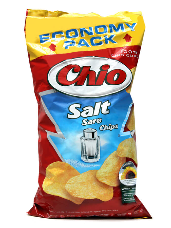 Chips with salt